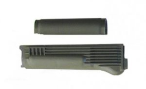 Upper and Lower Handguards for Stamped Receiver with Stainless Steel Heat Shield