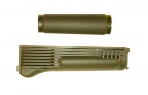 OD Green Polymer Hand-Guard Set for Milled Receiver with Stainless Steel Heat Shield