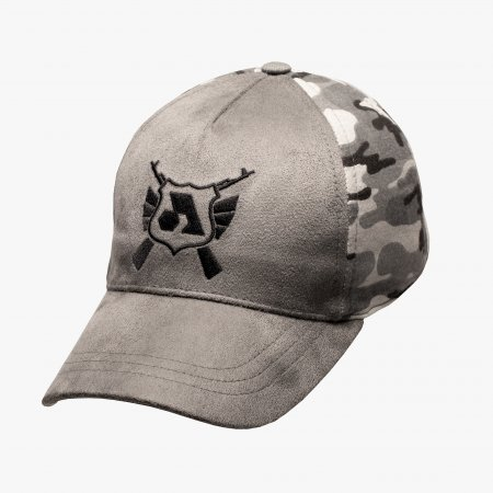 Gray Camo Split Icon Cap