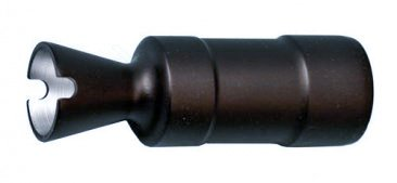 Cone Design Flash Hider with 24x1.5 Right Hand Threads for 5.45x39mm and 5.56x45mm Rifles
