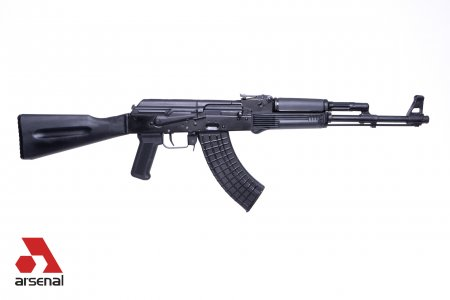 SLR107R-11E 7.62x39mm Black Semi-Automatic Rifle with Enhanced Fire Control Group