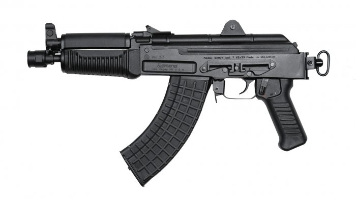 SAM7K-44 7.62x39mm Semi-Automatic Pistol