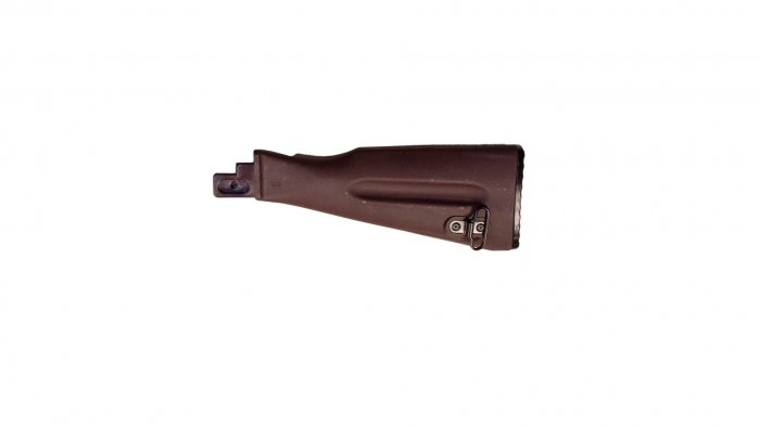 Plum Polymer Buttstock Assembly for Stamped Receiver